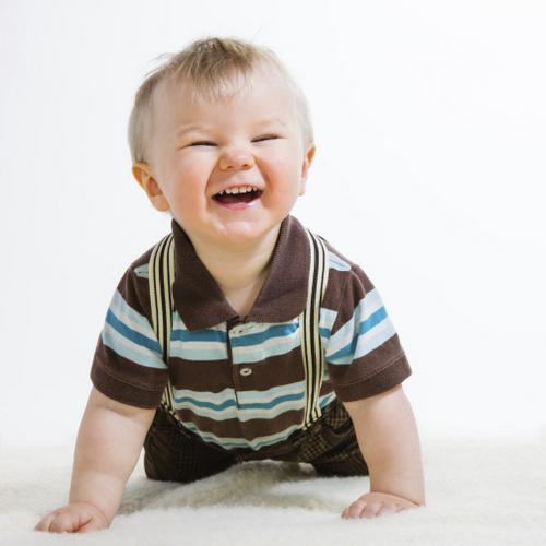 Baby Boy crawling  toddler